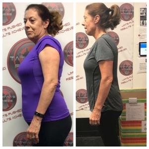 Gabriela lost 29 lbs & 9% body fat